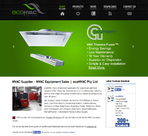 ecohvac launches new website