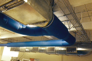 DuctSox Fabric Ducting at Wrigleys