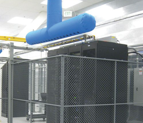 Fabric Duct Data Centre Cooling