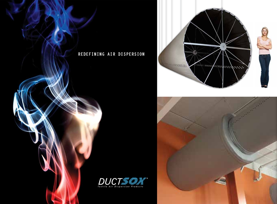 new fabric duct products