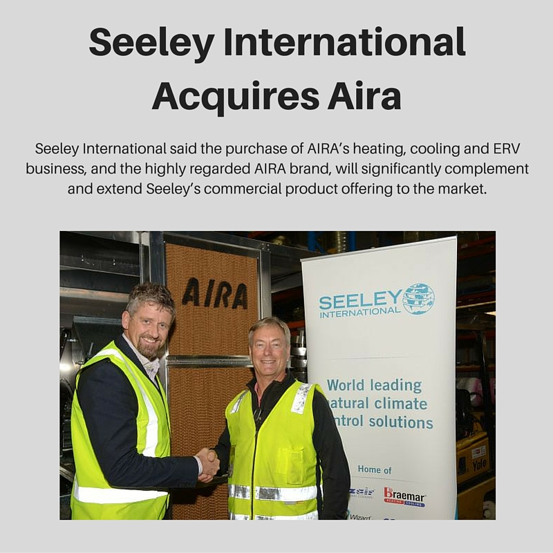 Seeley International Acquires Aira