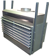 aira gas flued suspended heaters