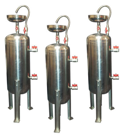 stainless steel chemical dosing pots