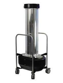 mobile room uvc disinfection