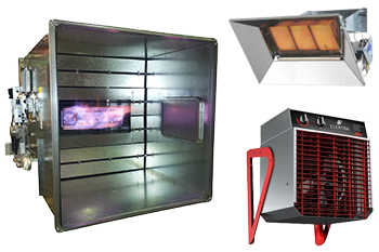 Commercial and Industrial Heating Product Range