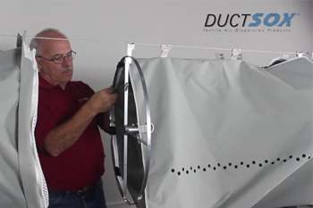 DuctSox Fabric Ducting Installation Videos