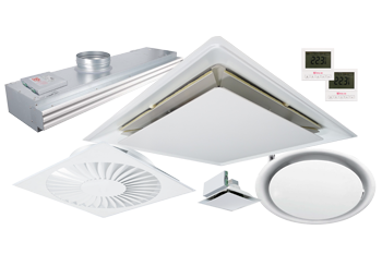 Thermal and Smart Electic VAV Diffuser Product Range