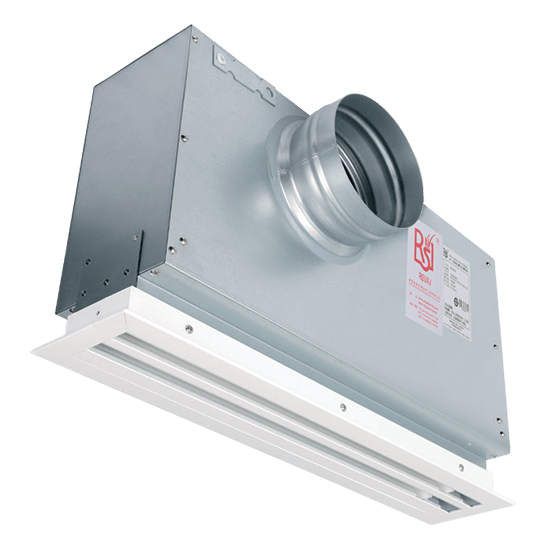 Thermally Powered Linear VAV Diffuser