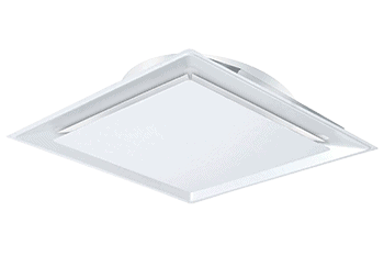 Thermally Powered Square VAV Diffuser