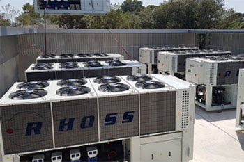 AIr Cooled Chillers and Heat Pumps
