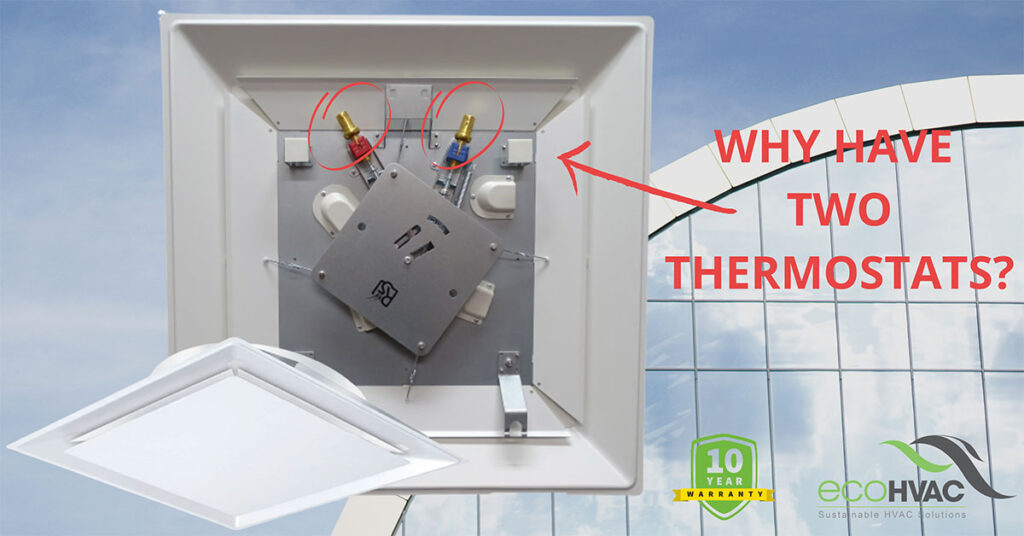 Why Have Two Thermostats on VAV Diffusers?
